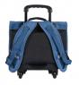 Cartable 38 cm Trolley PP19 SKATE Blue jean jersey
