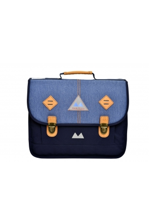 Cartable 38 cm LIGHT Blue / Jean