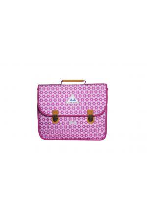 Cartable 38 cm PP19 STARS Pink