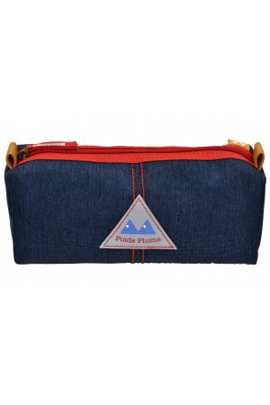 Trousse simple LIGHT Red / Dark Jean