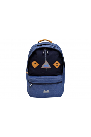 Sac a dos 2 Comp Medium LIGHT Blue / Jean