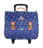 Cartable 38 cm Trolley PP19 LIBERTY Bleu
